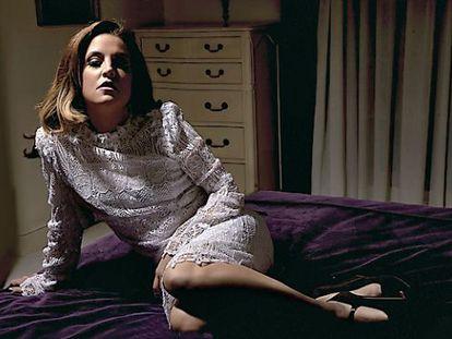 Lisa Marie Presley en una imagen promocional de su nuevo disco.