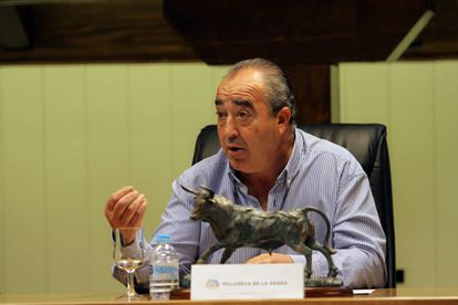 Jesús Hijosa, alcalde de Villaseca de la Sagra.