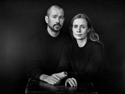 Lucie y Luke Meier, diseñadores de Jil Sander desde 2017.