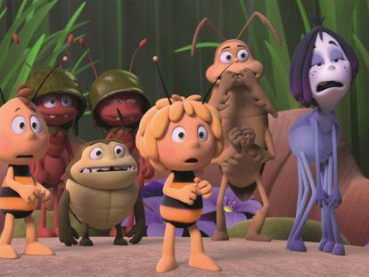 Imagen de 'La abeja Maya: los juegos de la miel'.