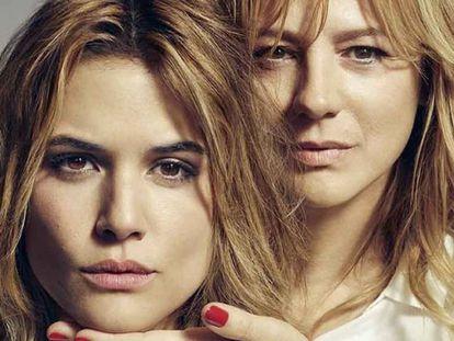 Adriana Ugarte y Emma Suárez, en una imagen de promoción de 'Julieta'.