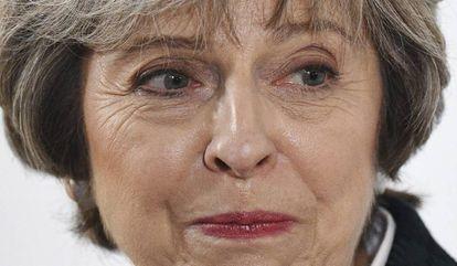 La primera ministra británica, Theresa May, este martes