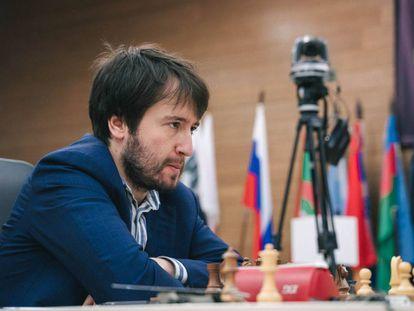 Teimur Radyábov, durante la Copa del Mundo de 2019 en Janti Mansiisk (Rusia)