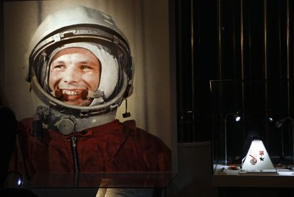 Imagen de una exposición dedicada a Yuri Gagarin en Moscú, en 2011.