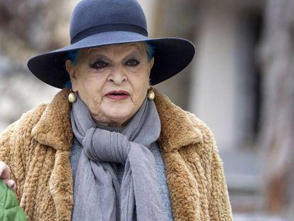 La actriz Lucía Bosé.