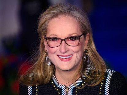 Meryl Streep, en Londres, el pasado diciembre. En vídeo, la actriz en el tráiler de la segunda temporada de la serie 'Big Little Lies'.
