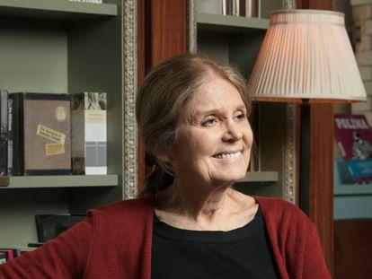 Gloria Steinem, en una fotografía cedida por Beowulf Sheehan.
