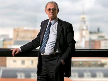 Antón Costas, en su despacho del Consejo Económico y Social, el pasado lunes.