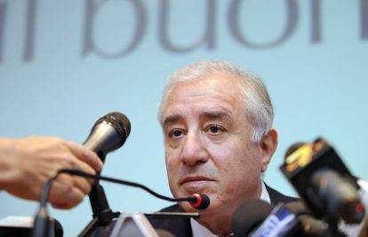 El cofundador de Forza Italia Marcello Dell'Utri en una imagen de archivo.
