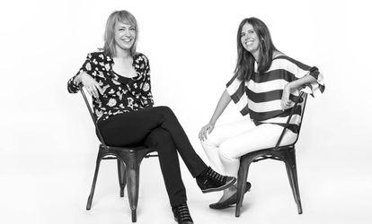 Isabel Durán y Marta Fernández Herraiz en una foto promocional.