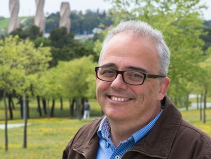 Javier Lafuente, licenciado en Ciencias Químicas.