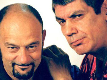 El dúo formado por Carlos Faemino y Javier Cansado.