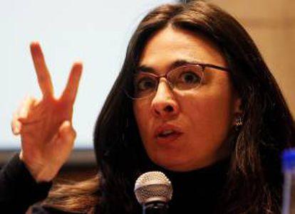 La relatora especial para la Libertad de Expresión de la OEA, Catalina Botero. EFE/Archivo