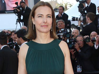 La actriz Carole Bouquet en el Festival de Cine de Cannes, en 2015.