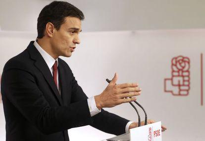 Pedro Sánchez, en una imagen de archivo.