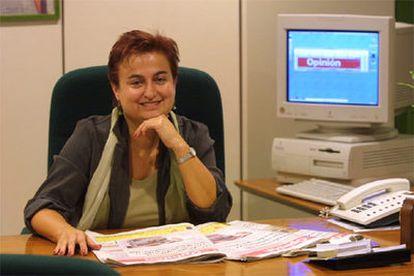 Paloma Reverte, directora de <i>La Opinión de Murcia.</i>