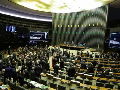 La Cámara de Diputados brasileña.