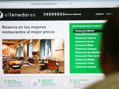 Eltenedor es una de las páginas web que ofrecen descuentos en restaurantes.