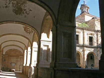 Interior del monasterio de La Caridad, en Ciudad Rodrigo (Salamanca).