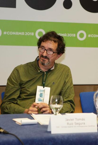 El investigador del CSIC Javier Ruiz.