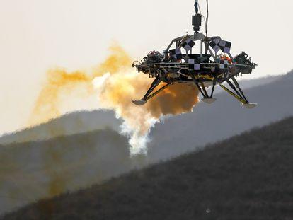 Imagen de las pruebas que se realizaron en 2019 en China para testar el rover 'Tianwen-1'.