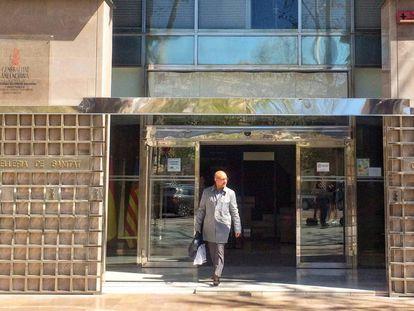Sede de la Consejería de Sanidad de la Generalitat Valenciana.