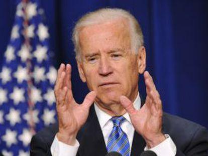 Joe Biden, este miércoles en Washington.