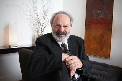 El psiquiatra canadiense Thomas Verny, en Madrid.