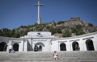 El Valle de los Caídos, este agosto.