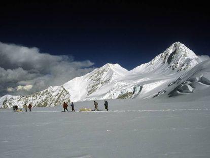 El glaciar Dasuopu se encuentra a 7.200 metros de altura.