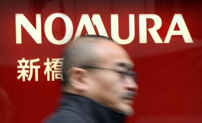 Fachada de la sede de la financiera japonesa Nomura, en Tokio, en una foto de archivo.