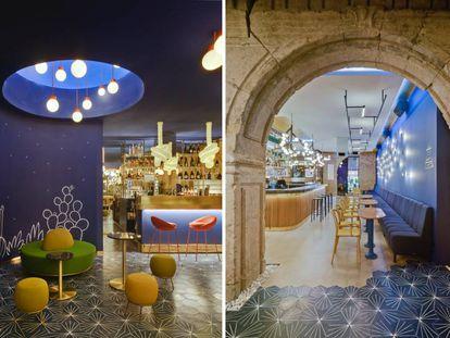 El bar de diseño de Murcia que une el 'western galáctico' con la increíble historia del primer rascacielos de la ciudad