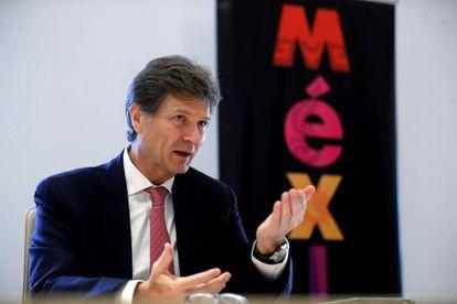 El secretario de Turismo de México, Enrique de la Madrid.