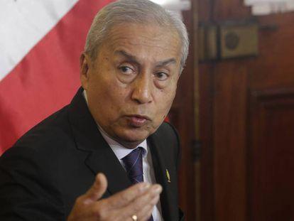 El fiscal general de Perú, Pedro Chávarry.