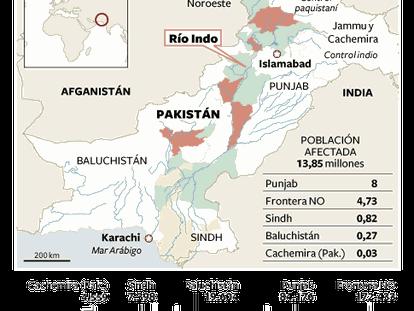 Las inundaciones en Pakistán