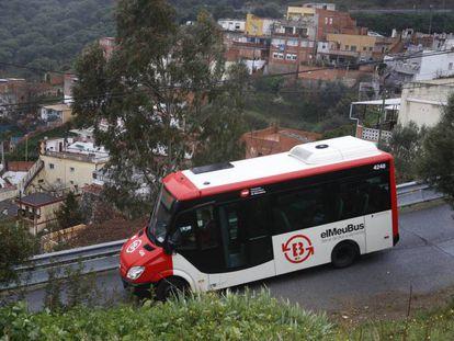 El nuevo servicio de autobús a demanda en Torre Baró.