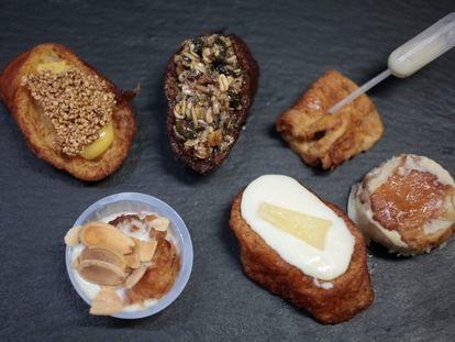 'Torrijas de distintas leches' es la nueva colección de la pastelería Nunos en Madrid.