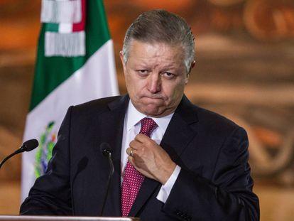Arturo Zaldívar, presidente de la Suprema Corte de Justicia.