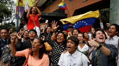 Las calles de Caracas esta semana.