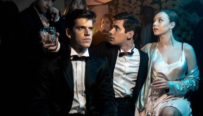 Escena de la serie española 'Élite', de Netflix.