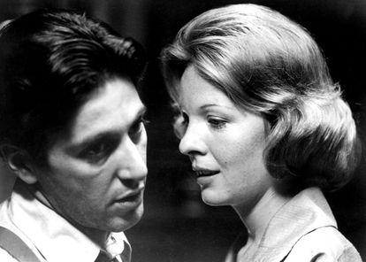 Katy Adams (Diane Keaton) era la esposa de Michael Corleone (Al Pacino) en 'El Padrino' (1972).