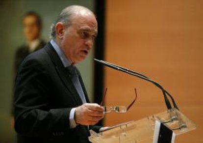 El ministro del Interior, Jorge Fernández Díaz. EFE/Archivo