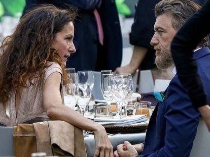 Telma Ortiz y Robert Gavin Bonnar, en el festival de Pedralbes, en Barcelona, el pasado junio.