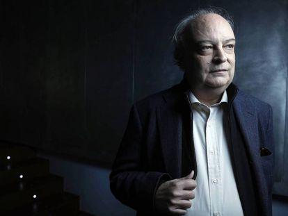 El escritor Enrique Vila-Matas, esta semana en Madrid.