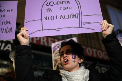 Manifestación en Madrid en diciembre de 2018.