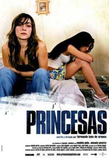Cartel de la película 'Princesas', de Fernando León de Aranoa.