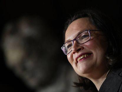 Andrea Nahles, la posible sucesora de Schulz