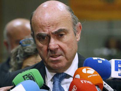 Luis de Guindos. EFE