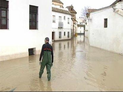 Écija vuelve a inundarse por quinta vez en un mes