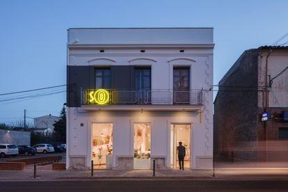 Carnicería Germans Soler, en Celrà (Girona), premio Bauwelt 2015. |